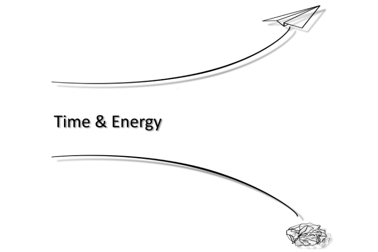 Don't waste your Energy - Get the foundation right!